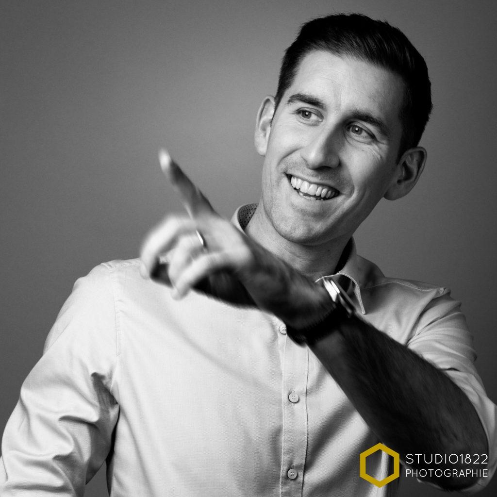 Photographe Lille portrait professionnel en entreprise