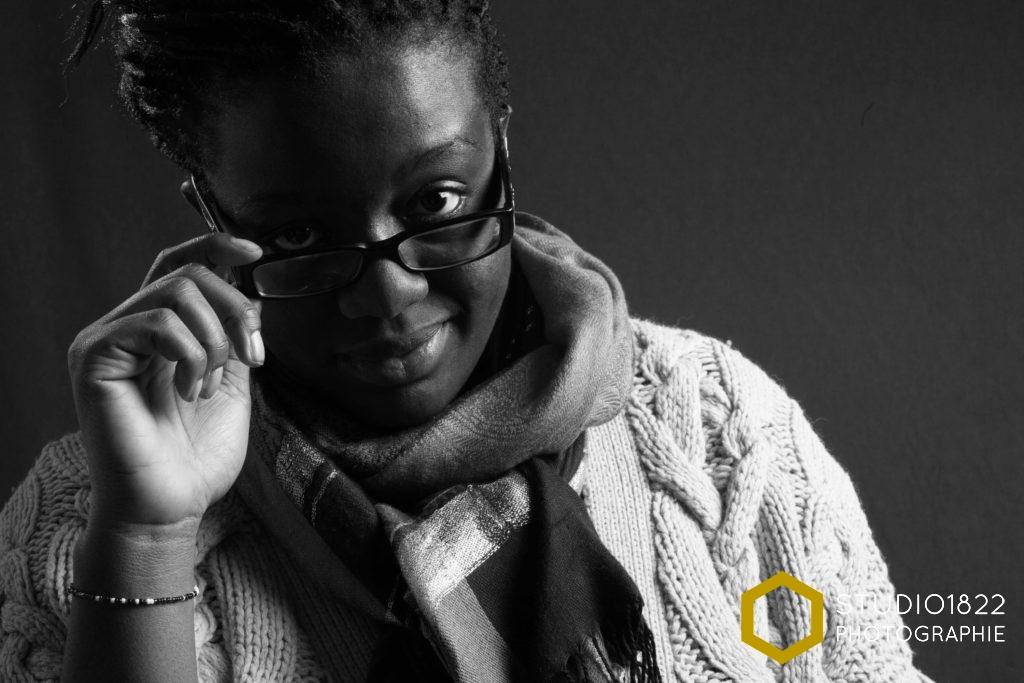 Photographe Lille portrait de Miki Tumona créatrice de mode