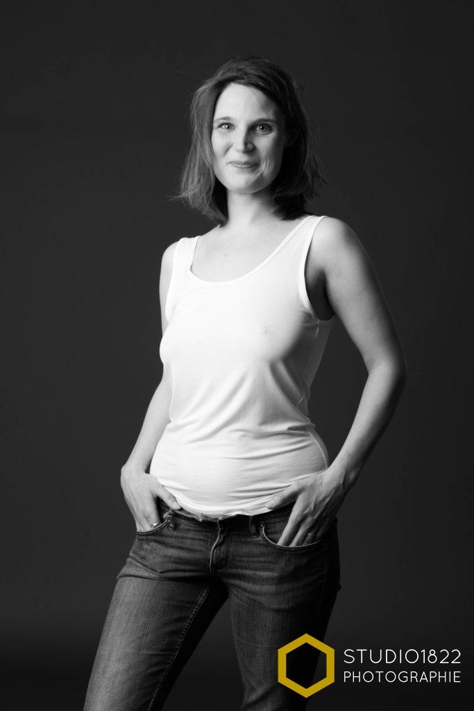 portrait d'une femme par photographe professionnel tourcoing