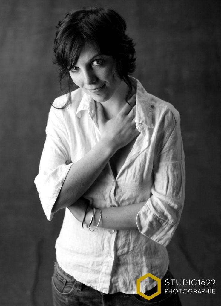 Photographe Lille portrait en studio photographe pro