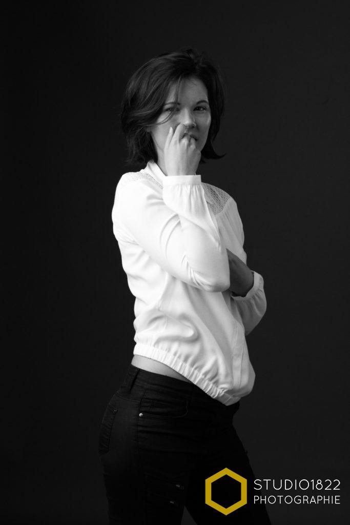 Photographe Lille portrait en studio