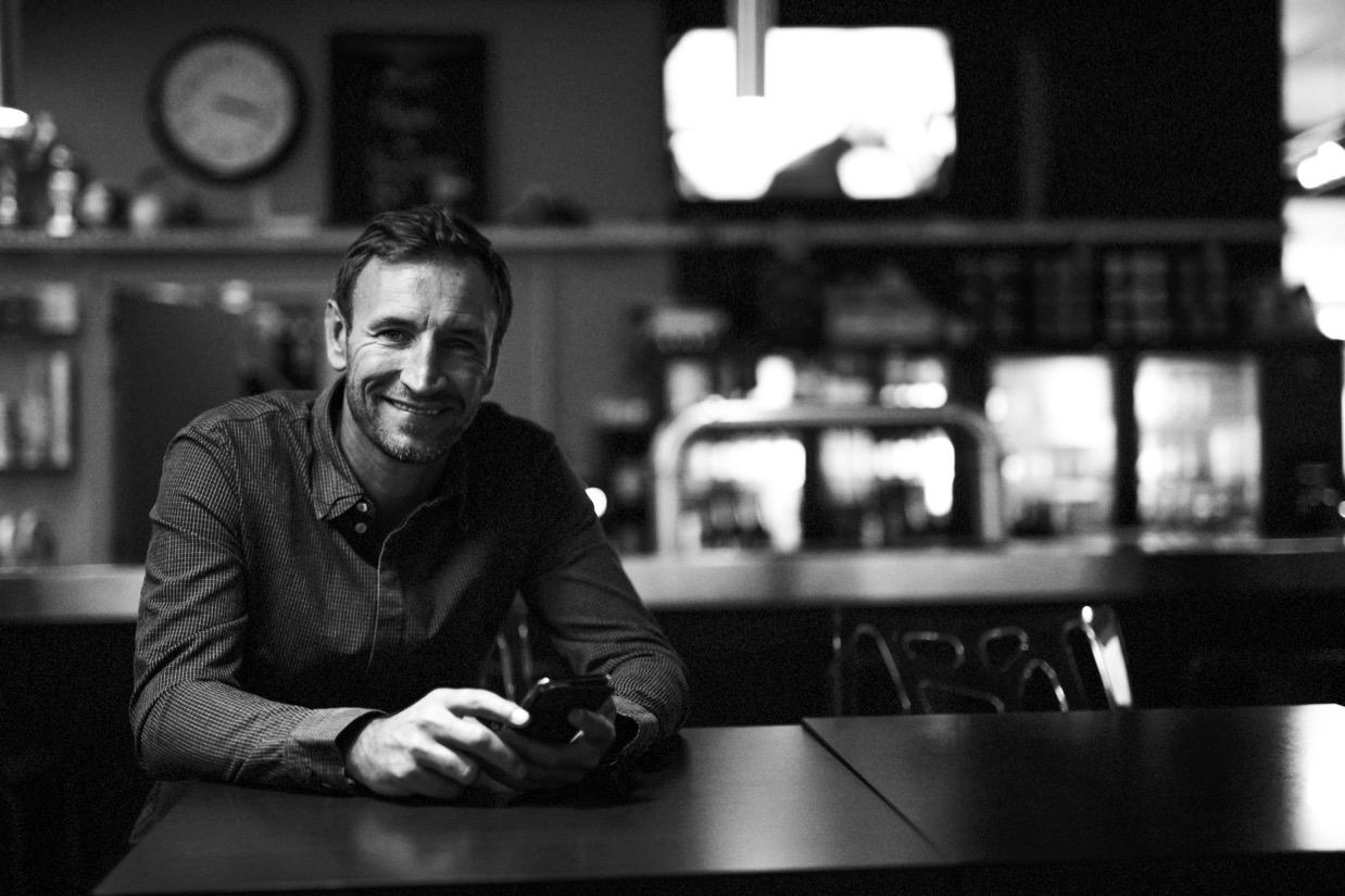 Photographe Lille Portrait d'un patron dans son établissement