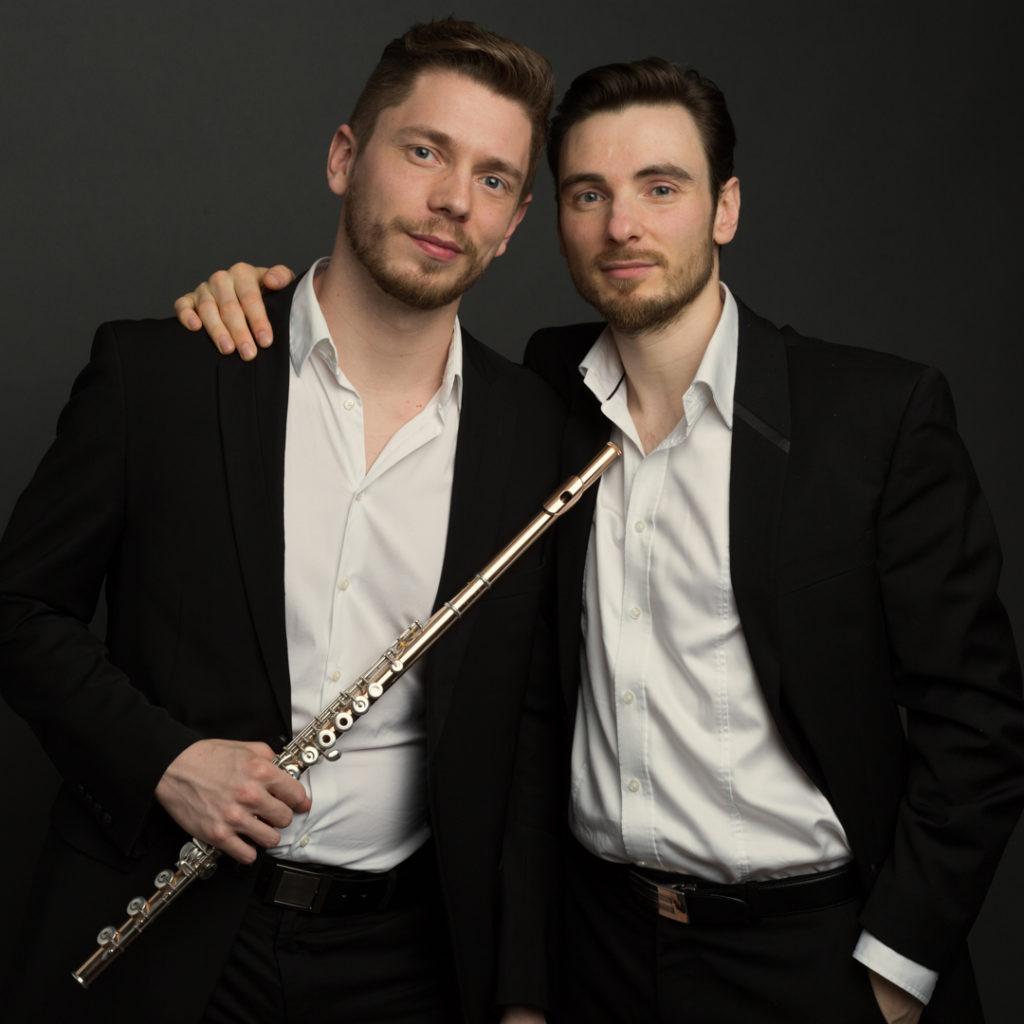 Photographe Lille portrait du Duo Aquilon