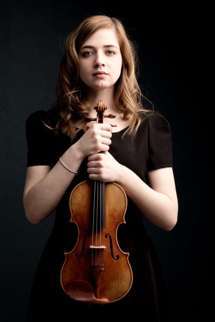 Photographe Lille Portrait de musicienne