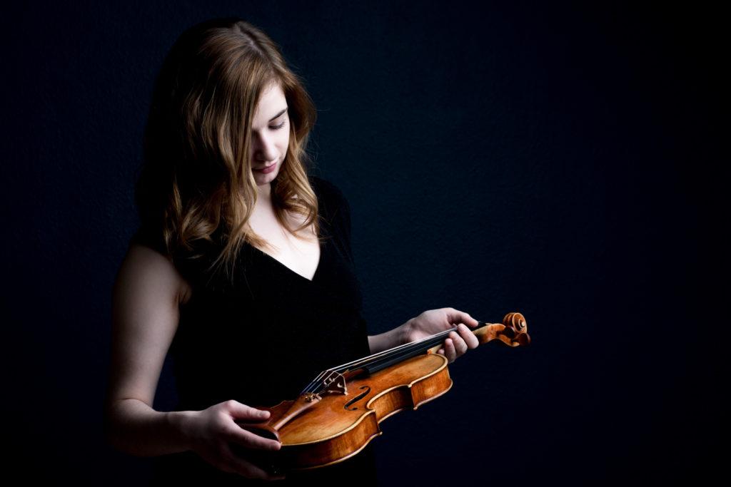 Photographe Lille portrait violoniste