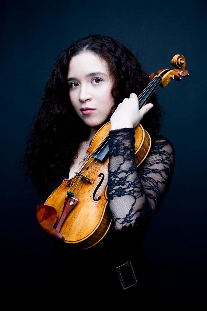 Portrait de Nine Agneray violoniste