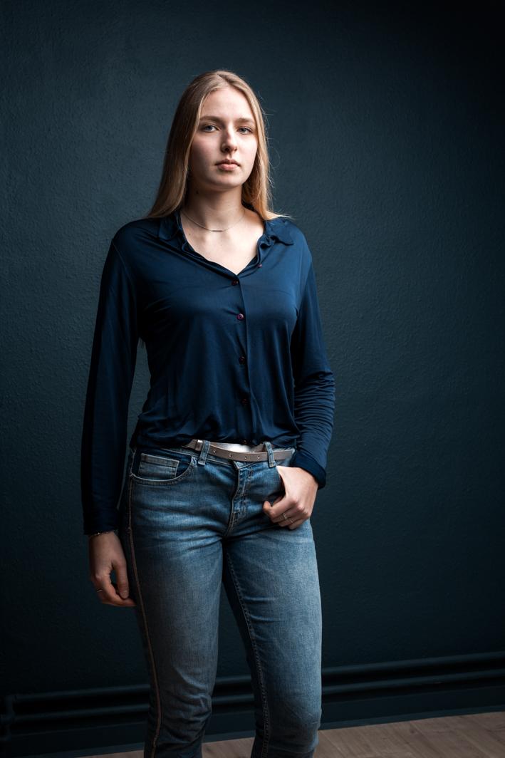 Portrait de femme par un photographe portraitiste