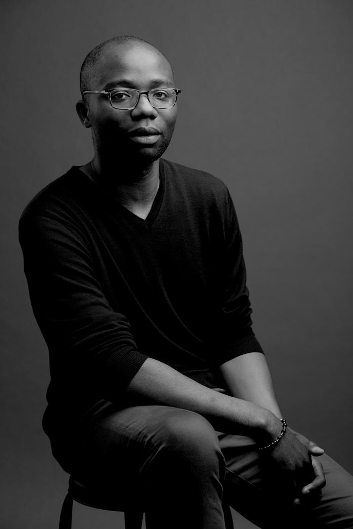 Portrait photographique en noir et blanc