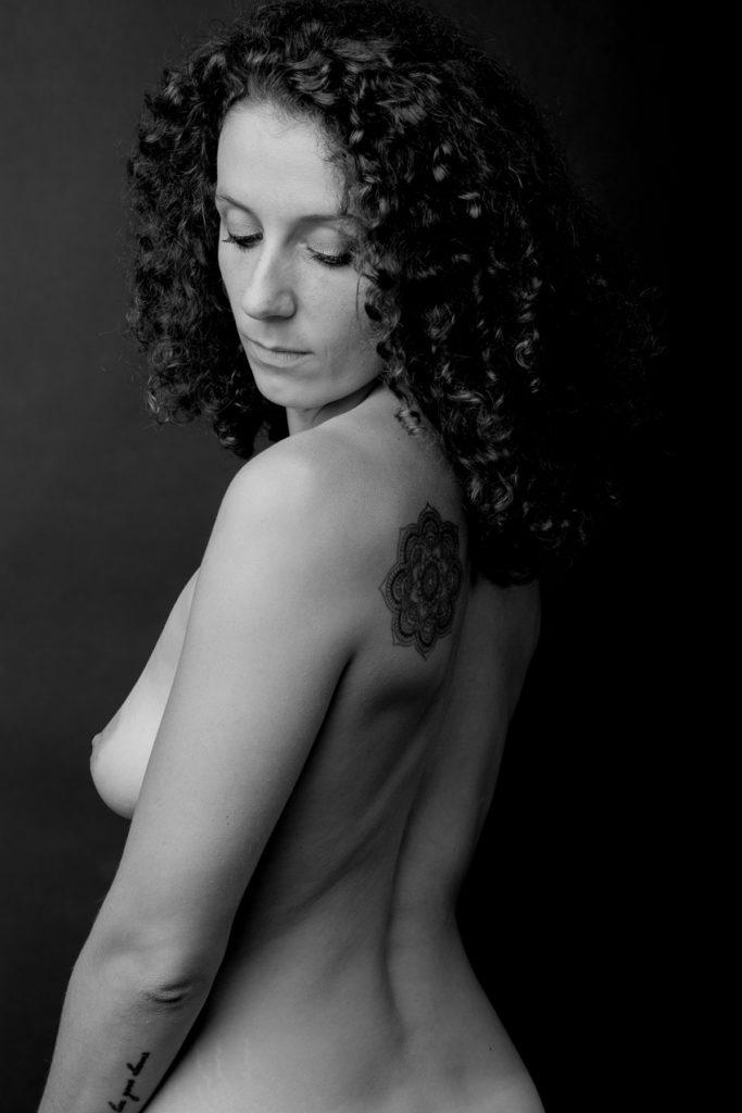 Portrait nu d'Hélène