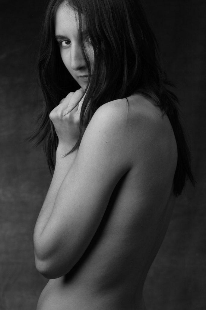 Portrait nu de Mathilde